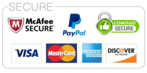 100% Secure payment through PayPal, no PayPal account required
